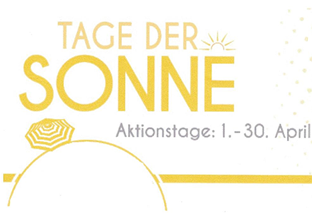 Aktion im April - Sonnenbrille gratis!